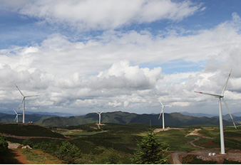 SANY High-altitude WTG Served in Maoniuping Wind Farm Project