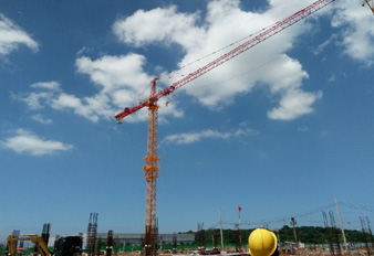 SANY Tower Crane Working in Thailand