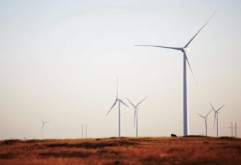 Wudengshan Wind Farm Project in Zhangbei of Hebei Province