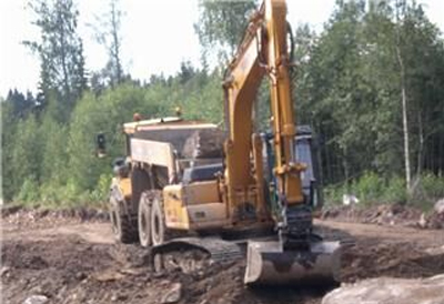 Highway No. 61 Widening Project in Sweden