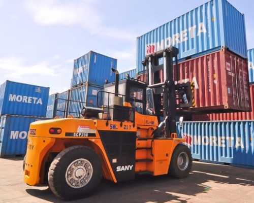 SANY forklift trucks in Mexico