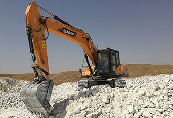 SANY excavators promote Iran's construction and mining projects