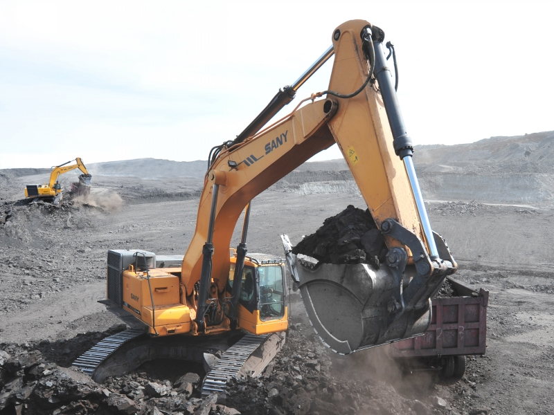 SANY SY750H 76 Ton Mining Excavators Construction Projects