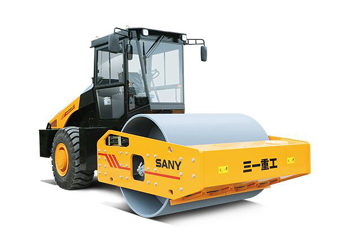 SANY introduced SSR200AC-8 and SSR220AC-8 hydraulic single drum roller with higher efficiency