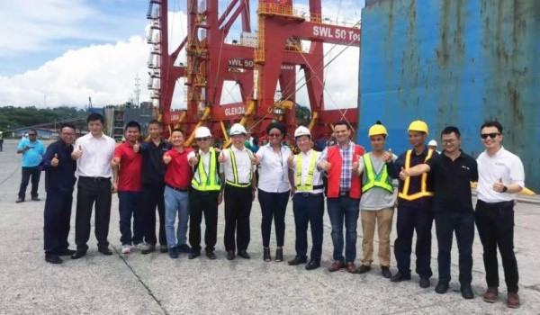 SANY STS Container Gantry Cranes Successfully Delivered to Port of Moin, Costa Rica