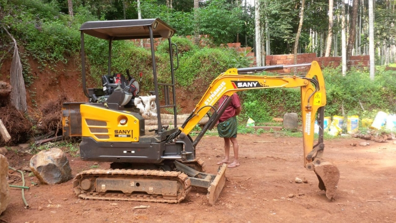 SANY mini excavators to usher a new market in India