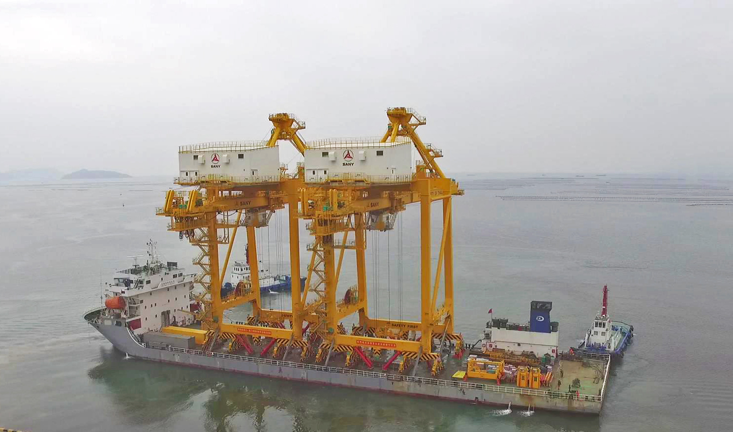 SANY STS Shipped to Bangkok Port