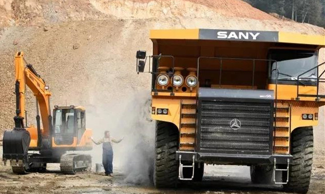 SANY International sees double sales in the first quarter