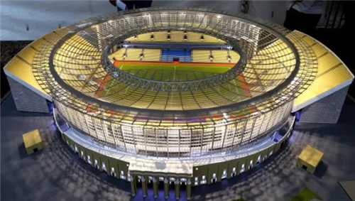 SANY Dream Team Contributed to FIFA World CUP Venues