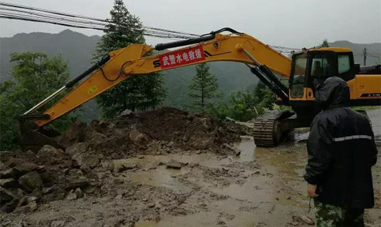 Over 200 Sany Excavators Used in Southern China Flood Relief