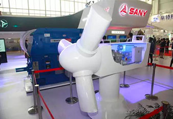 SANY Heavy Energy brings technologies to China Wind Power show