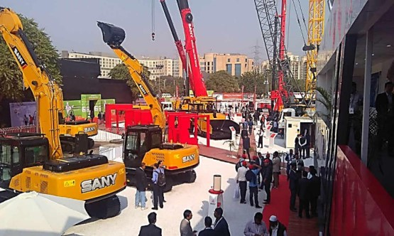 SANY brings latest products to BAUMA CONEXPO INDIA 2016