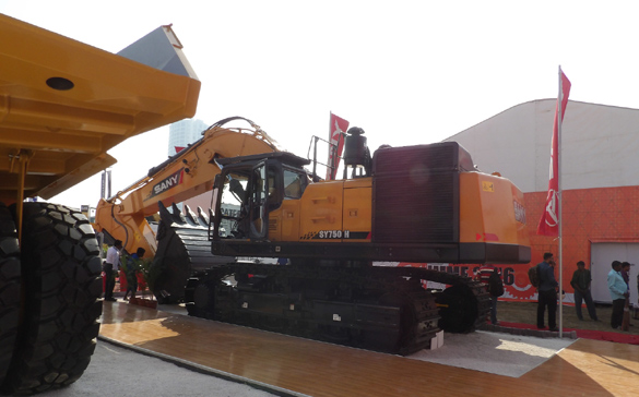 SANY India Announces Its Foray into the Mining Segment at the 13th International Mining & Machinery Exhibition (IMME) 2016