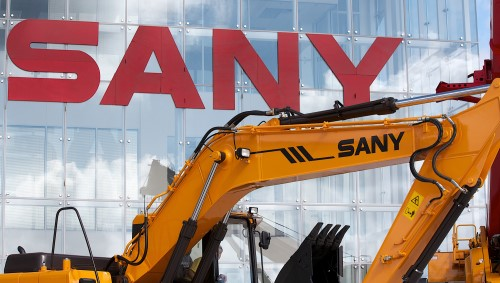 SANY GROUP STICKS TO 'GOING OUT' STRATEGY