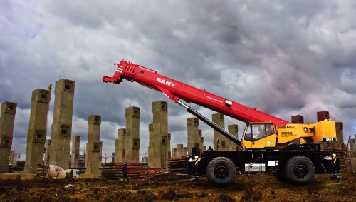 SANY Introduces New RT and Crawler Cranes for North American Market