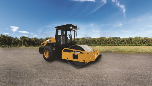 SANY's New Roller Compactor at ConExpo-Con/AGG 2017