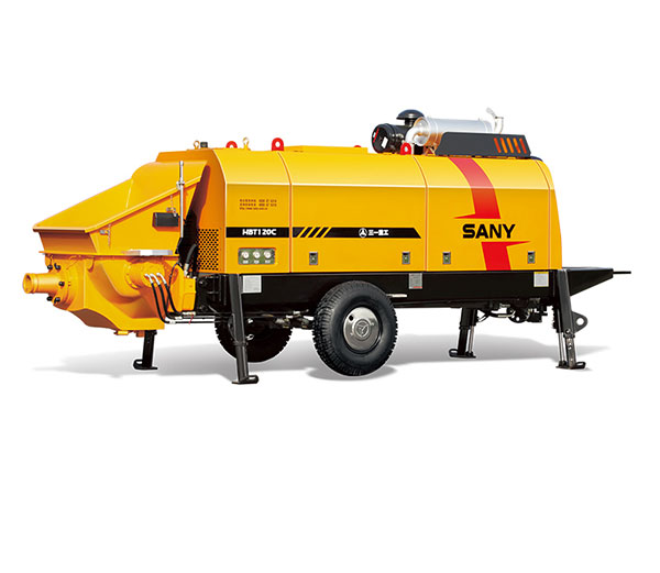 HBT12020C-5M 120m³/h Ultra-high Pressure Trailer Pump