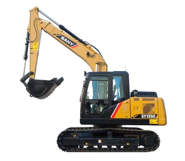 SY135C 15 ton Excavator, Tier 4 Final / EU Stage IV