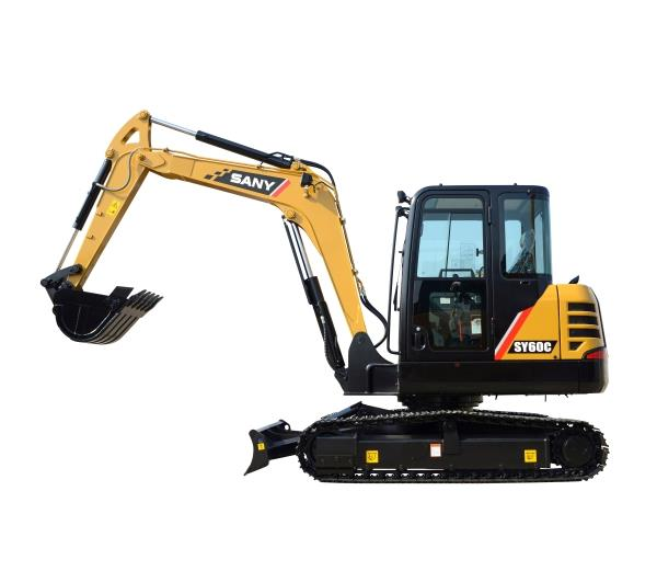SY60C 6.1 ton Excavator, Tier 4 Final