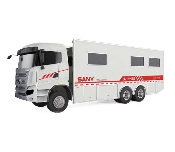 SYN5160XYQ Instrument Truck with SANY 6×4 CHASSIS