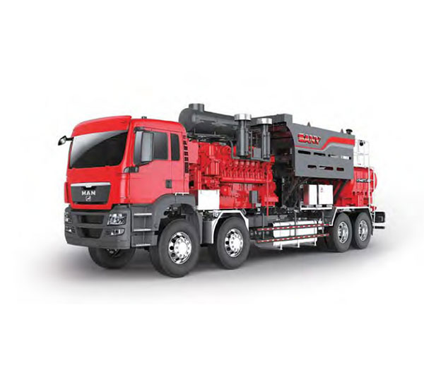 Model-2000 Fracturing Truck