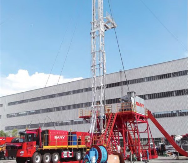 ZJ30/1800CZ Tuck-Mounted Drilling Rig