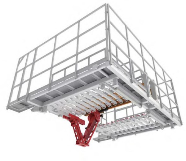 SPX178 High Altitude Automated Pipe-Racking System