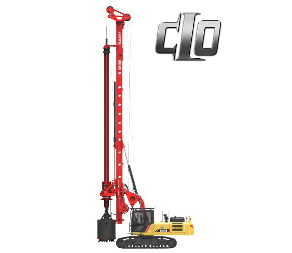 SR155 C10 Series Rotary Drilling Rig