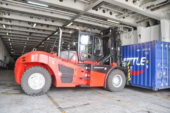 SANY forklift truck SCP1602 in Australia