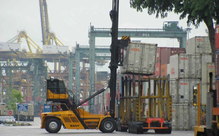 SANY SDCY90K7C1 empty container handlers in Singapore