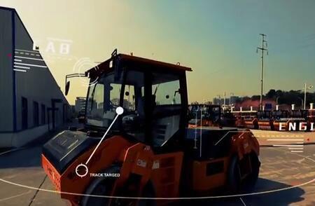 Démonstration d'opération : Le Rouleau compresseur à tambour en tandem