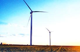 Sany Wind Turbine Generators Used at US Ralls Wind Farm