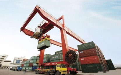 The First Order for Big Port Machinery in the Middle East