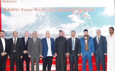 Sany Heavy Industry Won big purchase orders in Qartar