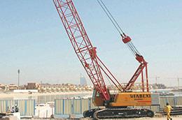 UAE Palm Jumeirah Island Construction