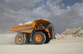Tombereaux personnalisés pour les mines de phosphate en Tunisie
