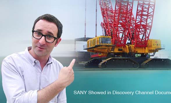 Sany paru sur la Chaîne de Discovery