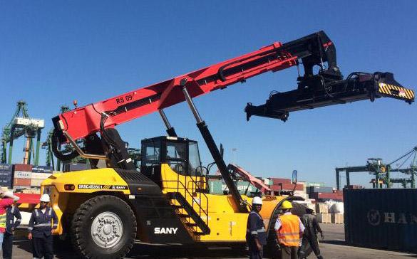 Sany décroche un énorme marché d'équipements portuaires mobiles en Arabie saoudite