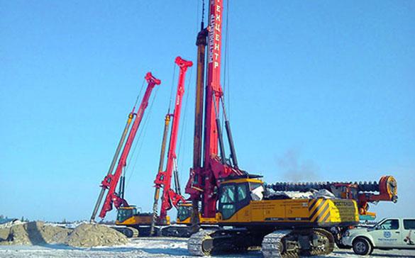 Роторные буровые установки Sany SR150C выиграли тендер Газпрома