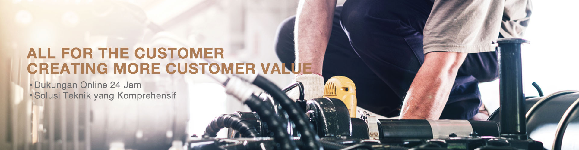 All for the customer, creating more customer value