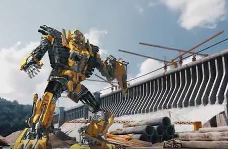 SANY Excavateur--un groupe de Transformers génials!
