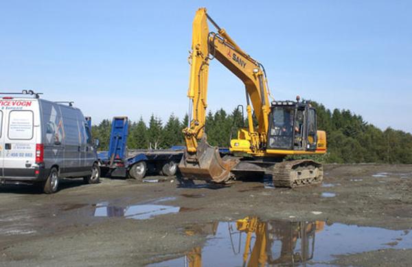 Construction du bâtiment du siège de l'ADAC -SANY
