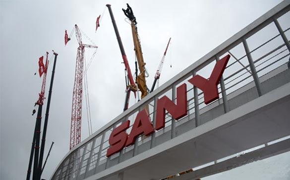 SANY présente 45 machines de pointe à Bauma China 2016