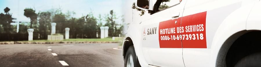 service après-vente de SANY Europe