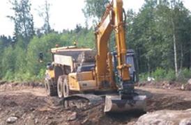 Élargissement de la route N° 61 en Suède