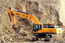 Pelles SANY participent à l'exploitation des mines du monde entier