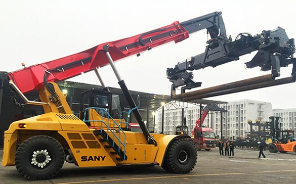 Forte croissance des machines portuaires de SANY en 2016