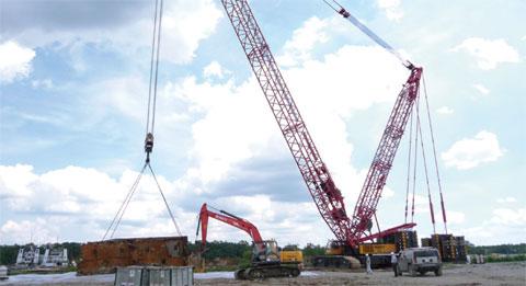 SCC4000 aide à démanteler les vieux navires aux États-Unis