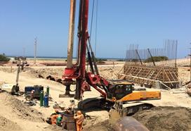 Construcción de la Ruta Panamericana en Perú