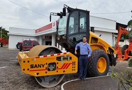 Compactadora de SANY en Nicaragua